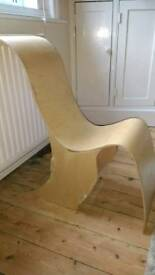 Hand made child's reclining chair