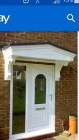 Brand New Decorative Porch