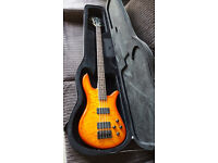 Spector NS2000/4 Q Bass Guitar and Case
