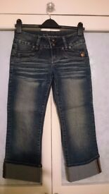 Jane Norman cropped jeans size 10