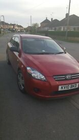 Kia Pro Ceed - 1.4L, 3 door full MOT and service history, 2nd owner (must be sold asap)