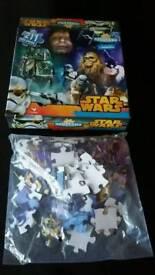 Starwars jigsaw puzzle - new