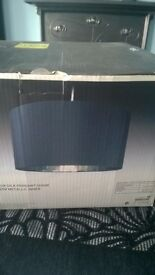 Next Large pendant light fitting / shade - AS NEW as still boxed - SOLD