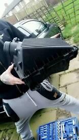 Mk4 golf drilled air box inc maf sensor