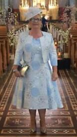 2cb640f35271 Blue Silk, Genevieve Louis by Nigel Rayment Hat | in Harrow, London ...