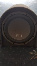 FLI Trap Active 12; 1000 Watt Subwoofer/Base Bin