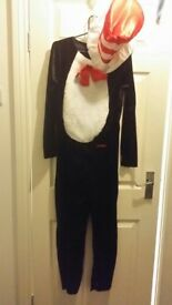 Cat in the hat costume fancy dress,dress up book day