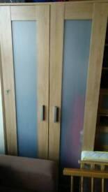 Ikea Aneboda wardrobe in oak
