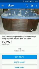 Hot tub 6 seater
