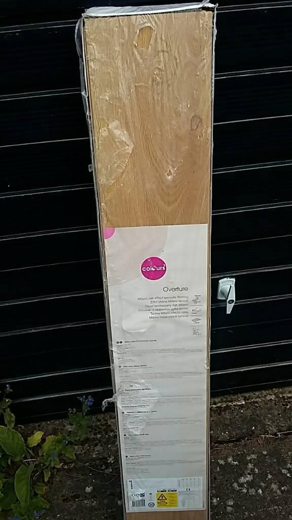 Overture Milano Oak Effect Laminate Flooring 3packs In Suffolk