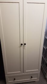 Mama & Papa Ivory Wardrobe - very rarely used in great condition. Pick up only.