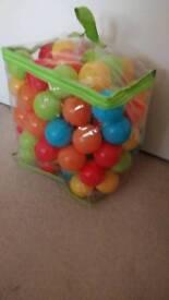 Plastic balls for ball pit