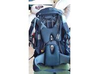 Berghaus 65 + 10 Litre Bioflex rucksack