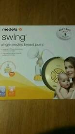 Medela swing single pump *receipt included*