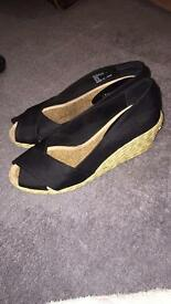 Ralph Lauren ladies wedges size 5
