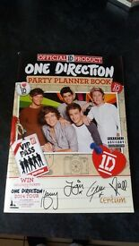 One direction party planner books - i have 10 for sale £1 each or all for £6