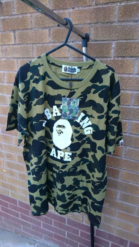 35f45ebd Mens Bape t-shirt Camo size L   in Nottingham, Nottinghamshire ...