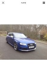 Audi rs4 replica based on Audi A4 2.0 tdi auto, Sat Nav, fully rs4 body kit , fully loaded, 64 reg