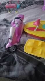 Moped for Barbie Doll