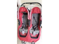 City jogger mini double buggy