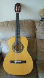 3/4 classical guitar.