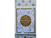Terry Pratchett Discworld Colouring Book.