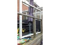 UPVC PATIO DOORS AND FRAME