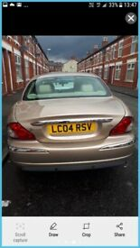 2ltr diesel beige coloured Jaguar x type.