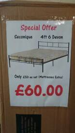 Brand new double bedframe