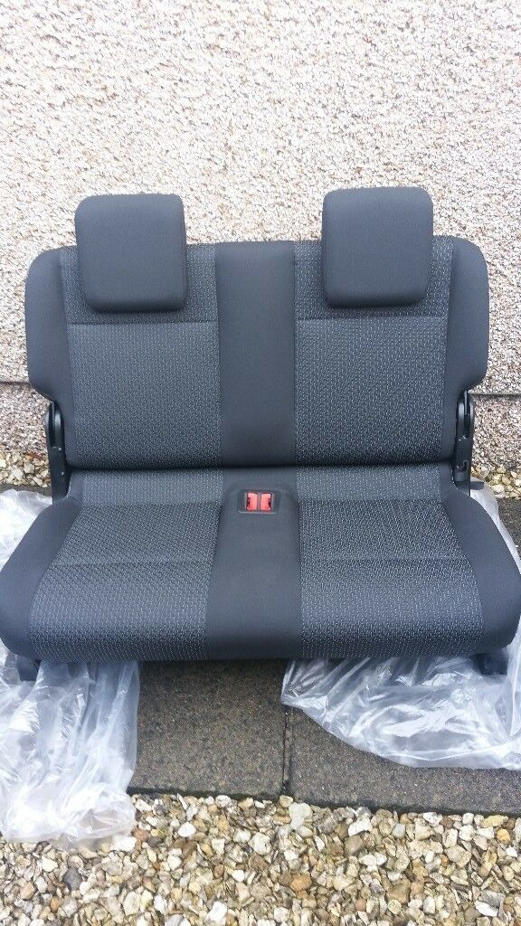 Vw Caddy Seat Rear Double 3rd Row Seat Genuine