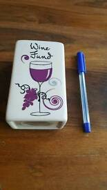 Wine Fund penny bank