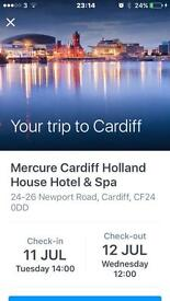 Accommodation for Cardiff Head full of Dreams Concert