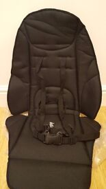 Replacement seat cover for Zoom: Black