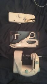 SEWING MACHINE + HAND SEWING MACHINE + BATTERY OPERATED SCISSORS