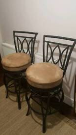 One off bar chairs