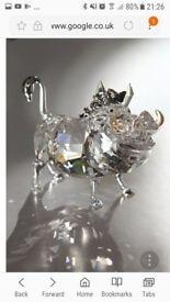 Swarovski crystal pumbaa