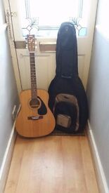 Yamaha F310 Full Size Acoustic Guitar - Natural GOOD CONDITION