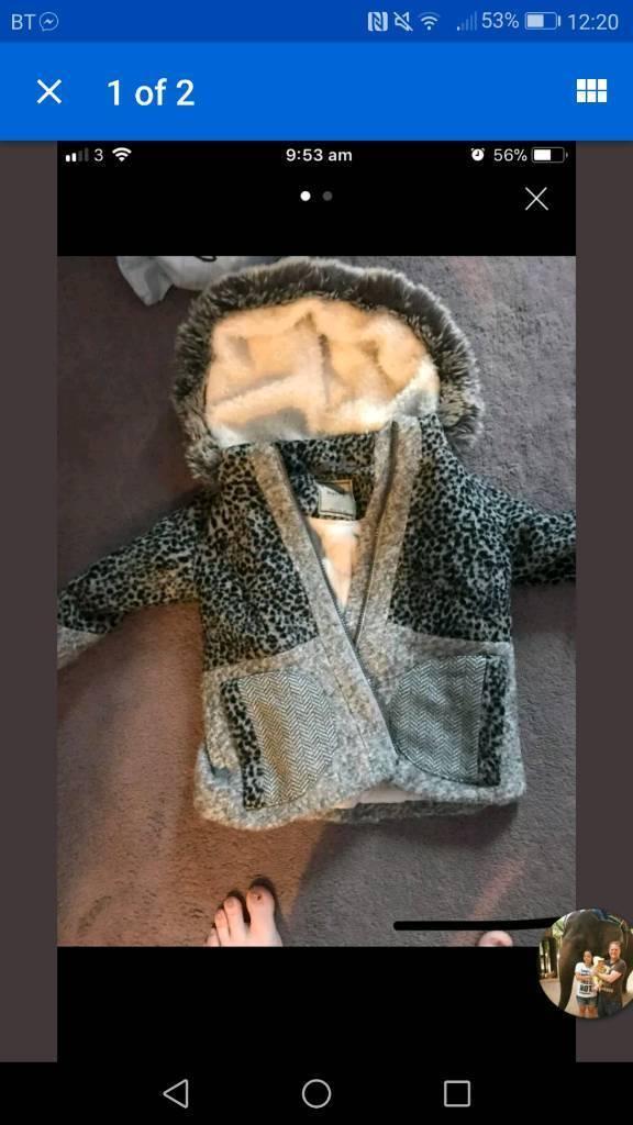 744690cbd0ec Baby girl coat 12-18 months next