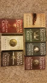 A Song of Ice and Fire by George R R Martin ( A Game of Thrones)