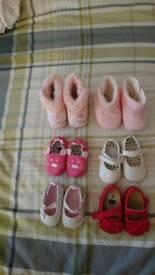 Girls shoes newborn /0-3 months