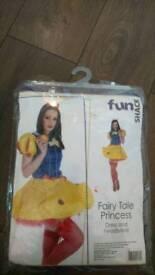 Full Complete Snow White Fancy Dress Costume