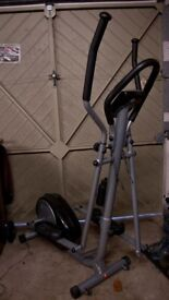 Orbus Leisure Cross Trainer with bottle holder and adjustable arms