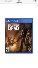 Walking dead ps4 game