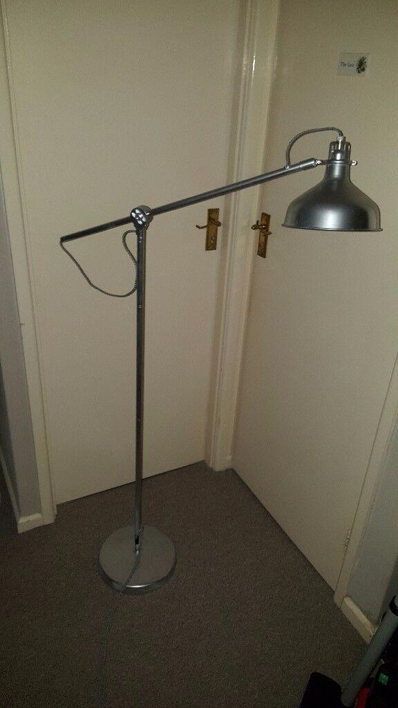Floor standing ikea lamp.