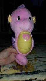 Fisher price glow and sooth seahorse
