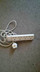 4 uk extension lead