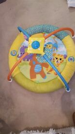 baby gym by bruin plays music comes and spins