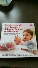 Annabel Karmel Baby And Toddler cookbook
