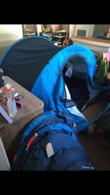 FREE- 6 x broken pop up tents - for spares or repairs
