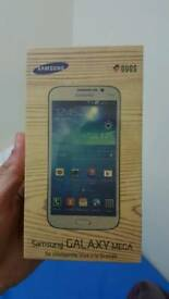 Samsung Galaxy Mega Big Screen DualSim Black Color Unlocked Excellent Condition as like New Box pack